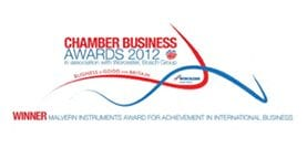 Chamber Business Awards logo 2012