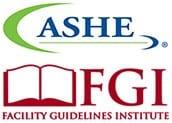 Ashe and FGI logos