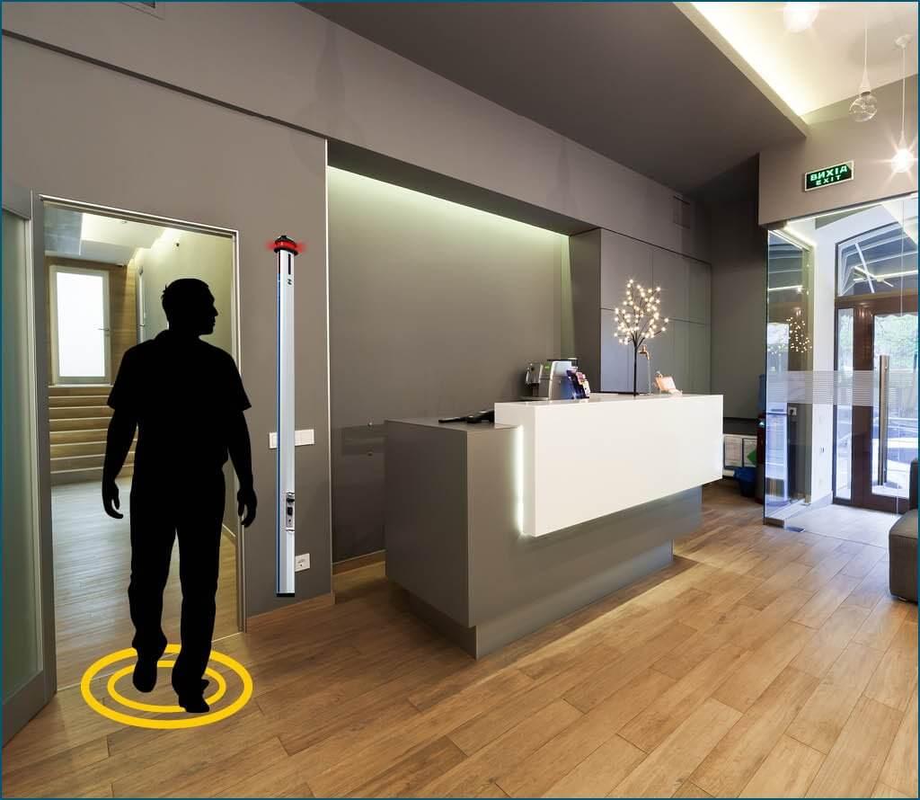Mental health facility security screening