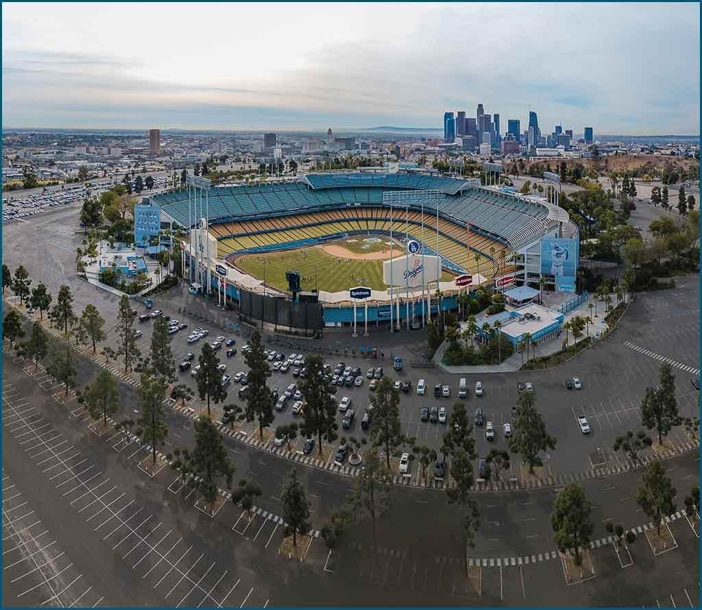 Stadium arena security image