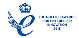 queens award 2018 innovation logo