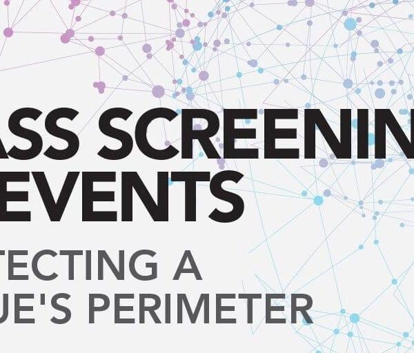 Mass screening infographic image