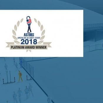 ASTORS Homeland Security Awards 2018 logo
