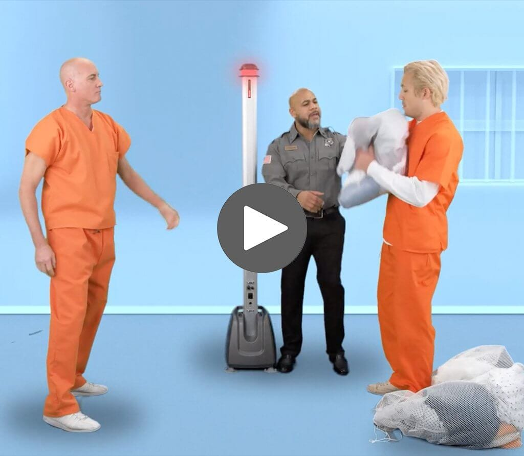 Corrections Security Vid