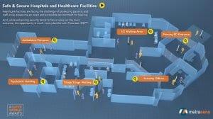 Interactive Healthcare Security Floorplan