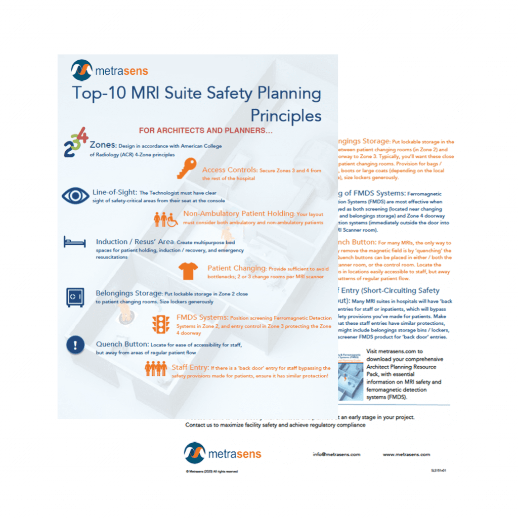 Top-10 MRI Safety design principles